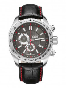 Ceas barbatesc Doxa Ace Steel Black