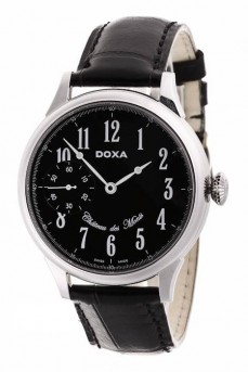 Ceas barbatesc Doxa Chateau Des Monts Steel Black Limited