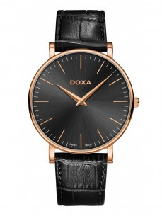 Ceas barbatesc Doxa D-Light Rosegold Black