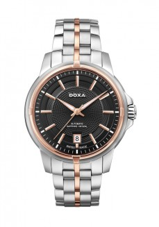Ceas barbatesc Doxa Executive Steel Black Gold