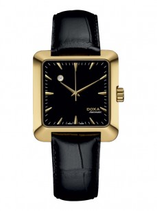 Ceas barbatesc Doxa Grafic Automatic Gold Black
