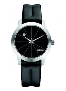 Ceas barbatesc Doxa Grafic Round Steel Black