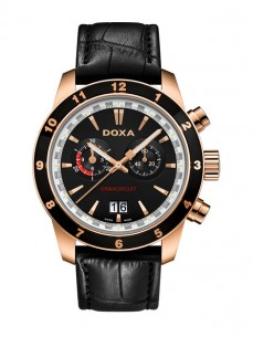 Ceas barbatesc Doxa Grancircuit Rose Gold Black