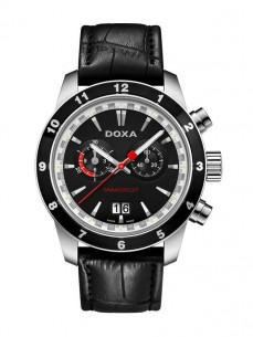 Ceas barbatesc Doxa Grancircuit Steel Black