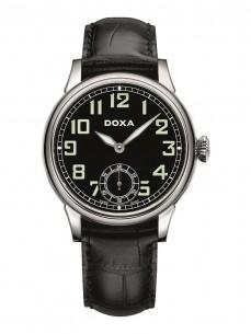 Ceas barbatesc Doxa Pilot Vintage Steel Black 2