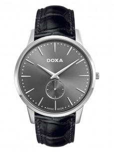 Ceas barbatesc Doxa Slim Line Steel Grey 2