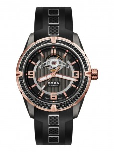 Ceas barbatesc Doxa Trofeo TC-Evolution Rosegold Black