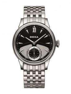 Ceas barbatesc Doxa Vintage Mecanic Steel Black
