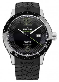 Ceas barbatesc Edox Chronorally 1 Automatik Black 2
