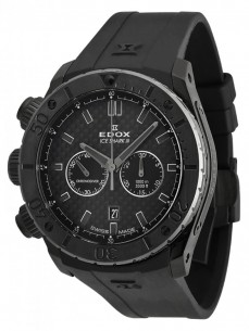 Ceas barbatesc Edox Class 1 Ice Shark III Black