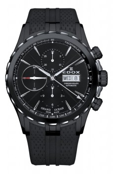 Ceas barbatesc Edox Grand Ocean Automatic Black 2