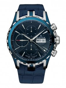 Ceas barbatesc Edox Grand Ocean Automatic Blue