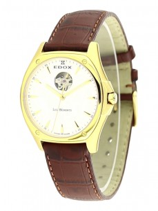 Ceas barbatesc Edox Les Bemonts Automatic Gold