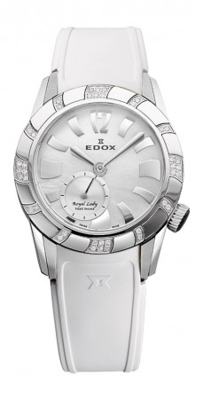 Ceas barbatesc Edox Royal Lady Steel White