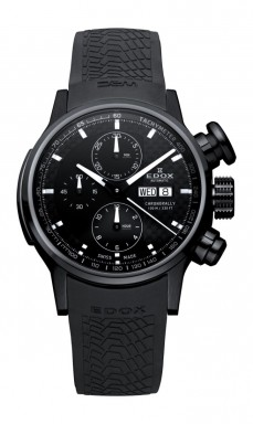 Ceas barbatesc Edox WRC Chronorally Black