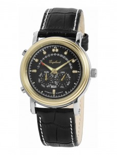 Ceas barbatesc Engelhardt Marcus Diamond Gold Steel Black