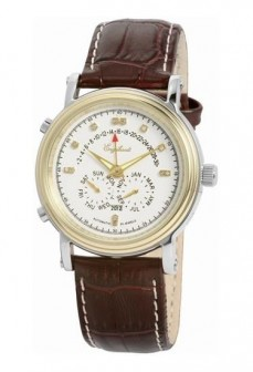 Ceas barbatesc Engelhardt Marcus Diamond Gold Steel White