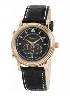 Ceas barbatesc Engelhardt Marcus Diamond Rose Gold Black