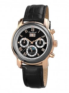 Ceas barbatesc Engelhardt Martin Rose Gold Black