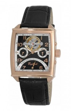 Ceas barbatesc Engelhardt Philip Rose Gold Black