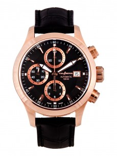 Ceas barbatesc Karl Breitner Admiral Rose Gold Black