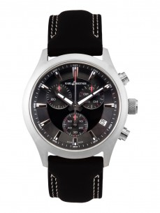 Ceas barbatesc Karl Breitner Gentle II Steel Black