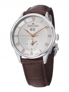 Ceas barbatesc Maurice Lacroix Tradition Date GMT Steel