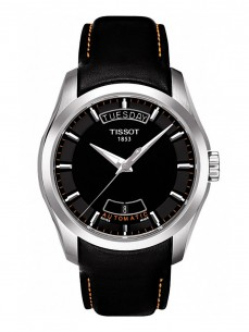 Ceas barbatesc Tissot Couturier Automatic Day Steel Black 2