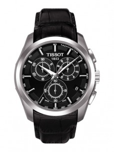 Ceas barbatesc Tissot Couturier Quartz Chronograph Leather