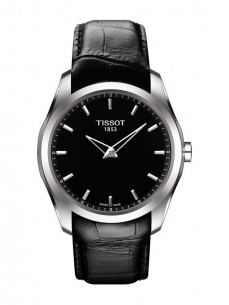 Ceas barbatesc Tissot Couturier Quartz Gent Steel Black LED