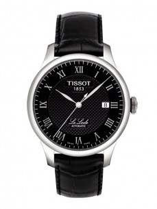 Ceas barbatesc Tissot Le Locle Automatic Gent Steel Black