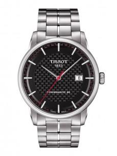Ceas barbatesc Tissot Luxury Automatic Steel Carbon Limited