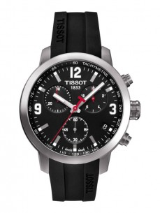 Ceas barbatesc Tissot PRC 200 Quartz Chronograph Steel Black 2