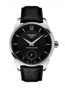 Ceas barbatesc Tissot T-Complication COSC Steel Black