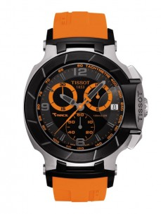 Ceas barbatesc Tissot T-Race Chronograph Gent Black Orange