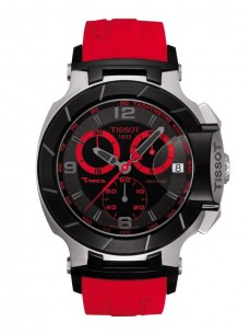Ceas barbatesc Tissot T-Race Chronograph Gent Black Red