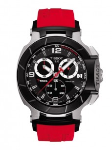 Ceas barbatesc Tissot T-Race Chronograph Gent Black Red 2