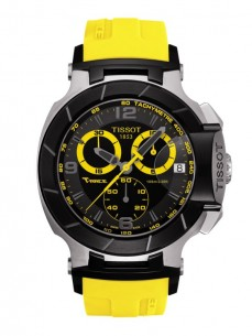 Ceas barbatesc Tissot T-Race Chronograph Gent Black Yellow