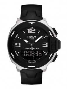 Ceas barbatesc Tissot T-Race Touch Steel Black