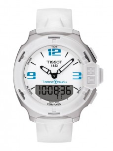 Ceas barbatesc Tissot T-Race Touch Steel White