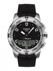 Ceas barbatesc Tissot T-Touch II Steel Black
